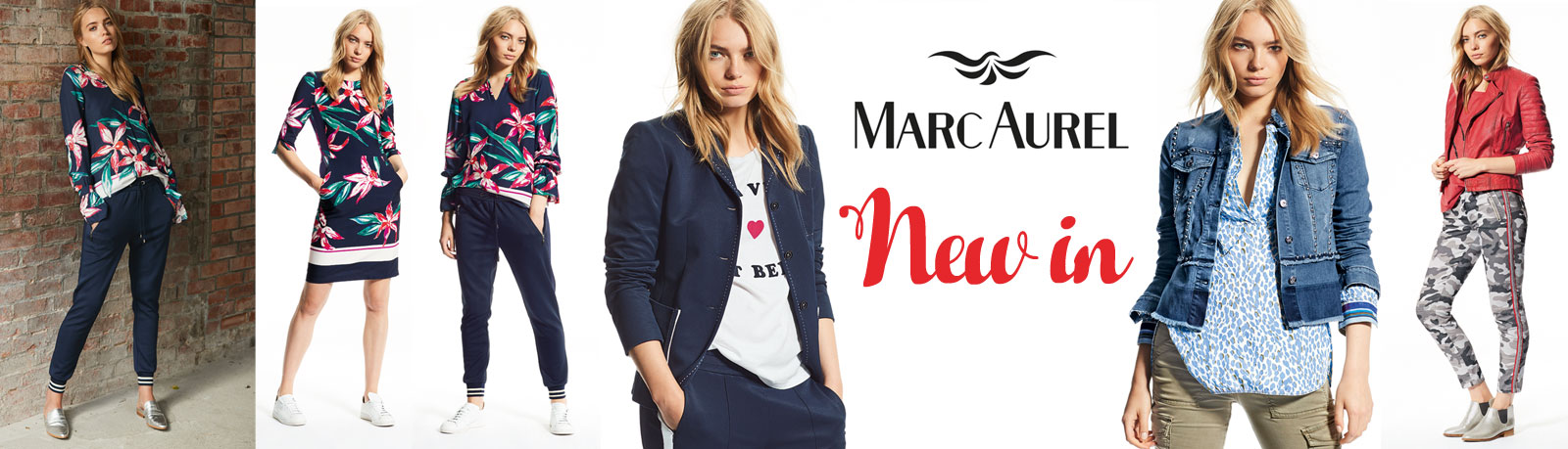 NEW IN: Neue Looks von Marc Aurel