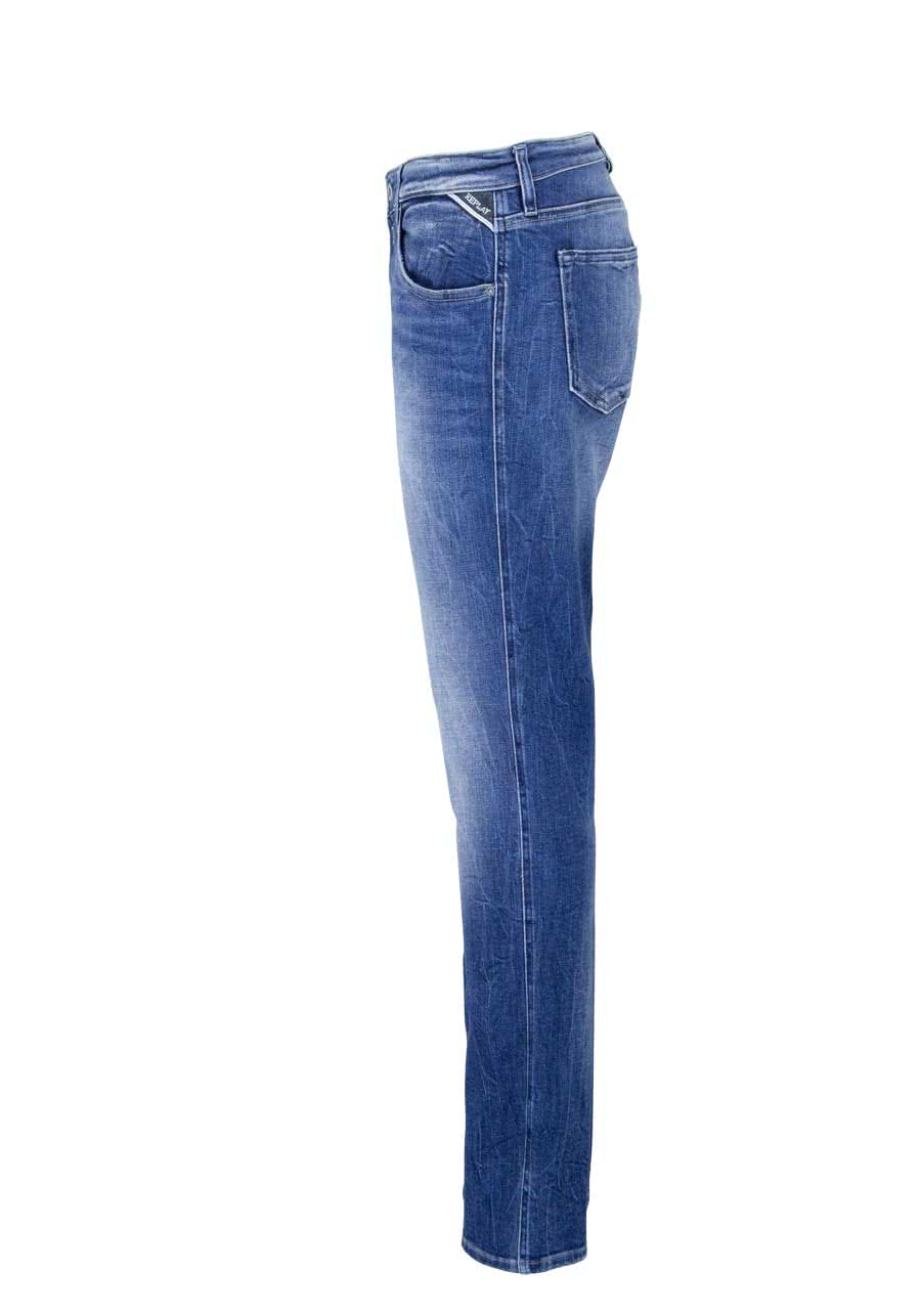 Slim Jeans KATEWIN Stretch Used mittelblau Replay