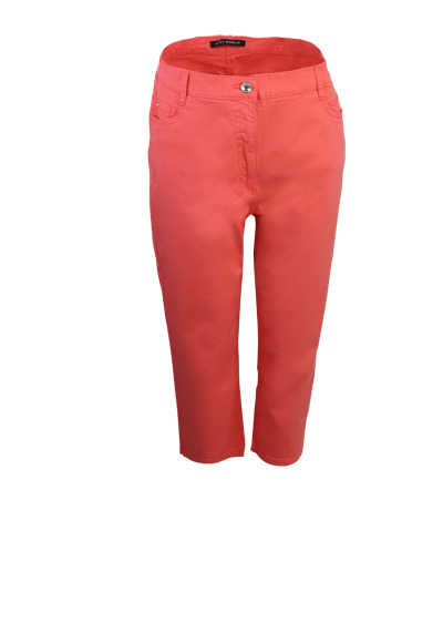 BETTY BARCLAY Skinny 7/8 Länge Hose 5 Pocket hellrot