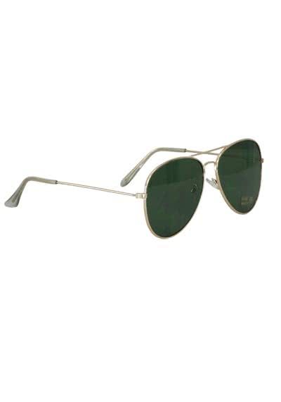 PIECES Sonnenbrille Metallrahmen gold
