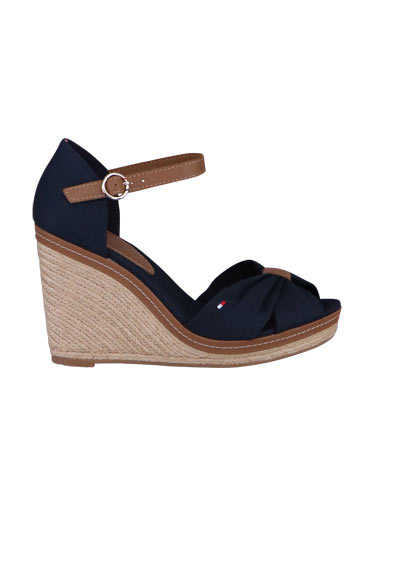 TOMMY HILFIGER Wedges ICONIC ELENA Keilabsatz midnight