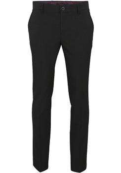ALBERTO Regular Slim Fit Hose anthrazit