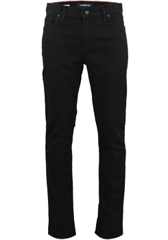 ALBERTO Regular Slim Fit Jeans schwarz