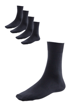 DAMERIS Damensocken 5er Pack schwarz 4007