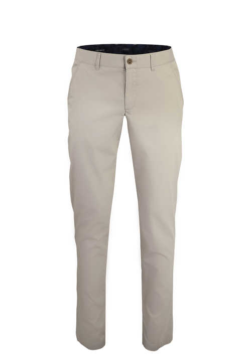 ALBERTO Regular Slim Fit Hose Material-Mix beige