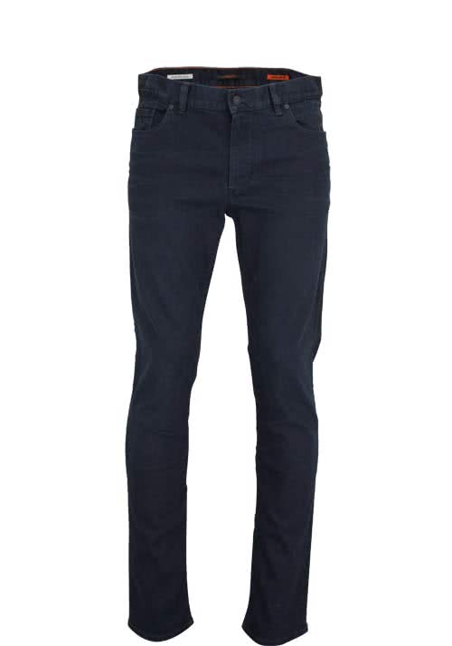 ALBERTO Regular Slim Fit Jeans 5 Pocket dunkelblau