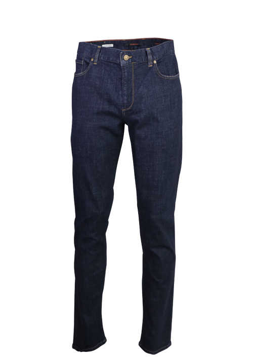 ALBERTO Regular Slim Fit Jeans 5 Pocket navy