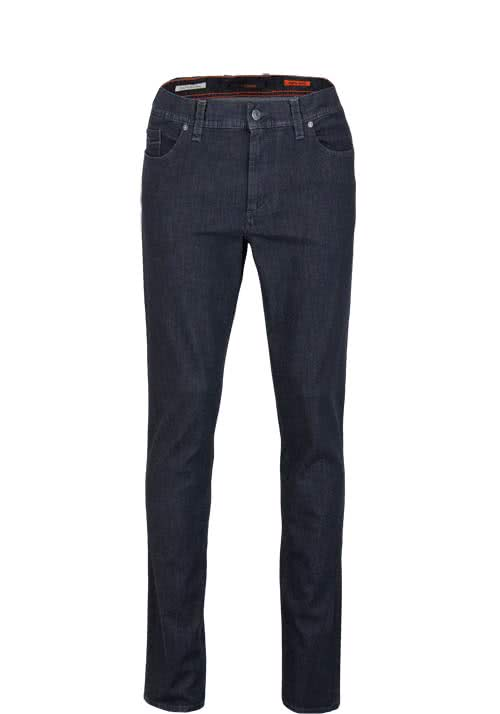 ALBERTO Regular Slim Fit Jeans Stretch anthrazit