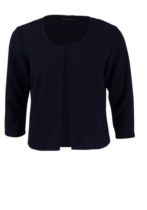 BETTY BARCLAY 3/4 Arm Blazerjacke Hakenverschluss navy
