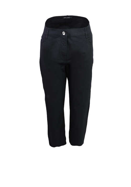 BETTY BARCLAY Skinny 7/8 Länge Hose 5 Pocket schwarz