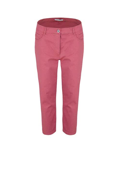 BETTY BARCLAY Slim Fit Hose 7/8 länge 5-Pocket altrosa