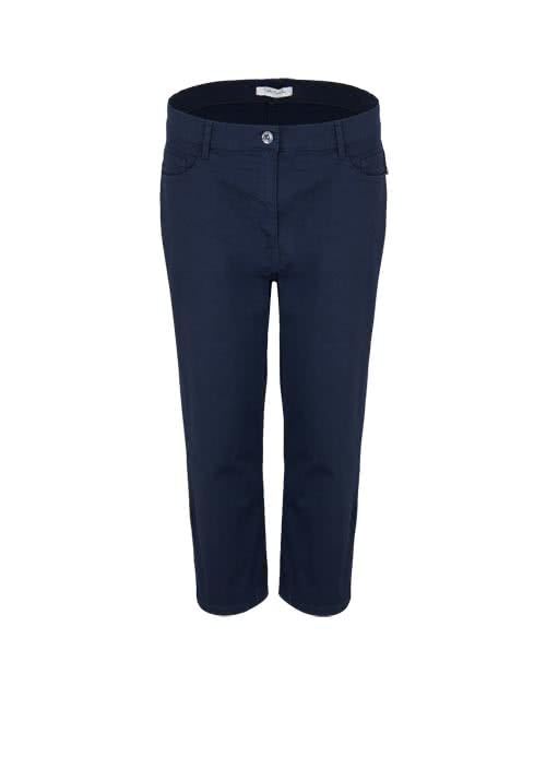 BETTY BARCLAY Slim Fit Hose 7/8 länge 5-Pocket nachtblau