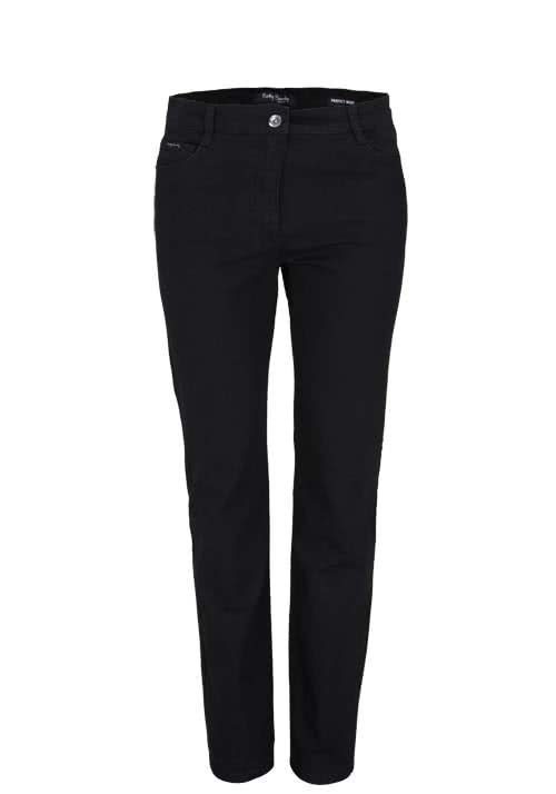 BETTY BARCLAY Straight Jeans Stretch schwarz