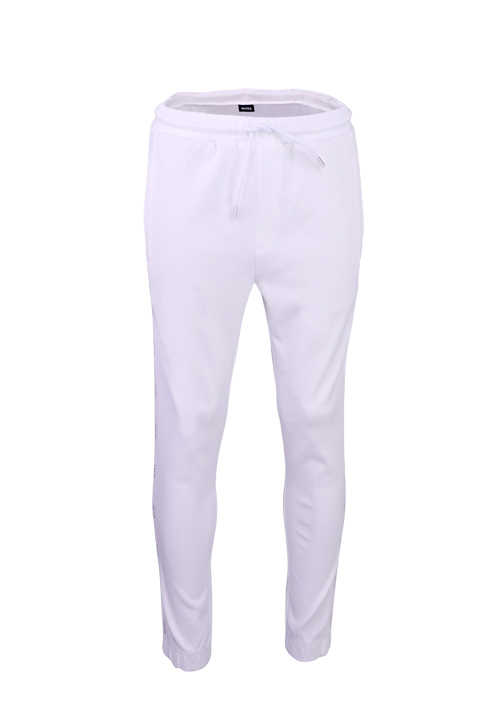 BOSS Athleisure Jogginghose HADIKO 2 Tunnelzug Stretch weiß