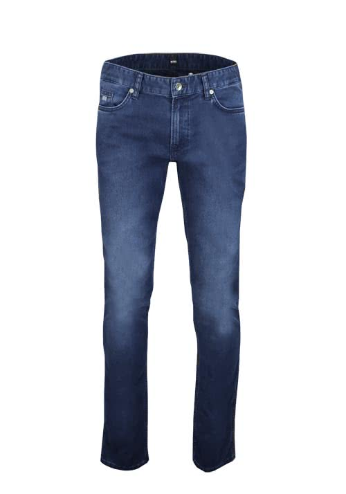 BOSS BUSINESS Slim Fit Jeans DELAWARE3 Stretch dunkelblau