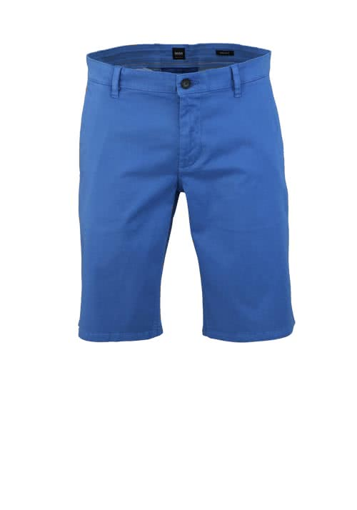 BOSS CASUAL Regular Fit Short SCHINO Reißverschluss dunkelblau