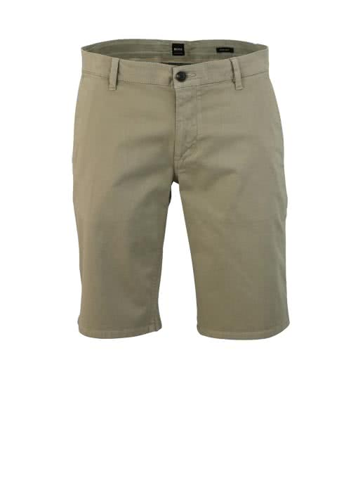 BOSS CASUAL Regular Fit Short SCHINO Reißverschluss hellbraun