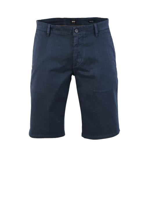 BOSS CASUAL Regular Fit Short SCHINO Reißverschluss nachtblau