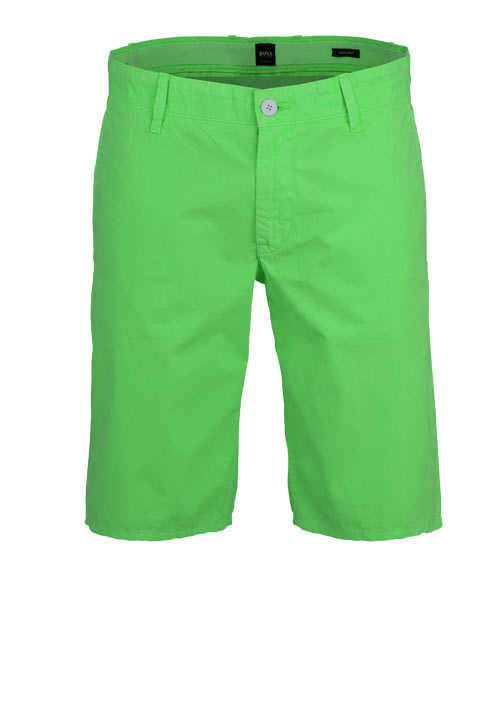 BOSS Comfort Fit Shorts SCHINO-REGULAR Taschen hellgrün