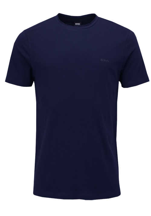 BOSS Halbarm T-Shirt TRUST Rundhals Regular Fit navy