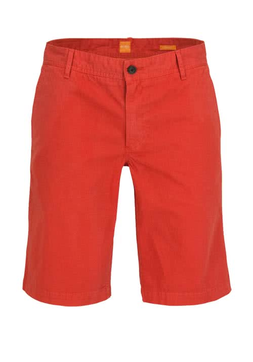 BOSS ORANGE Regular Fit Short SCHINO-SHORT hellrot
