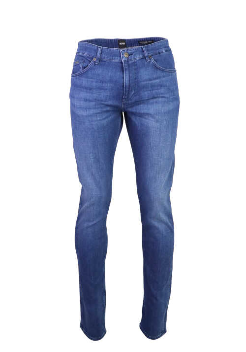BOSS Slim Fit Jeans DELAWARE3 Stretch dunkelblau