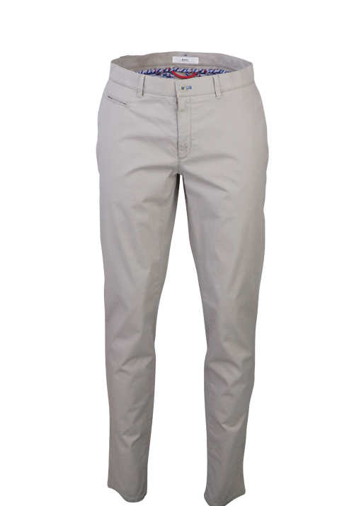BRAX Regular Fit Chino Hose FABIO IN Paspeltaschen Hi-Flex Struktur beige