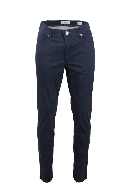 BRAX Regular Fit Hose CADIZ U 5 Pocket Button-Zipp-Verschluss Stretch navy