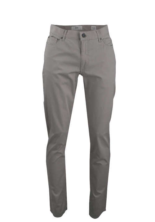 BRAX Straight Fit Hose CADIZ 5 Pocket Stretch mittelgrau