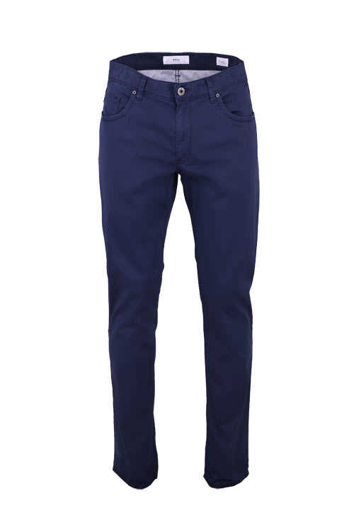BRAX Straight Fit Hose CADIZ 5 Pocket Stretch rauchblau