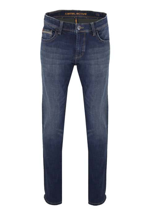 CAMEL ACTIVE Jeans HOUSTON mittelblau