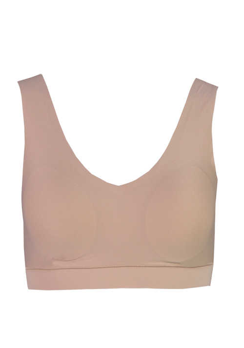 CHANTELLE Softstretch Bustier V-Ausschnitt Soft Cups nude