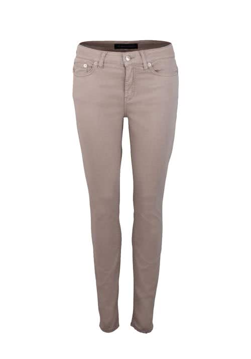DRYKORN Skinny Fit Hose PULL Mid Rise Stretch rost