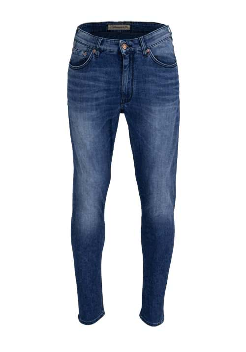DRYKORN Relaxed Fit Jeans DEEP blau