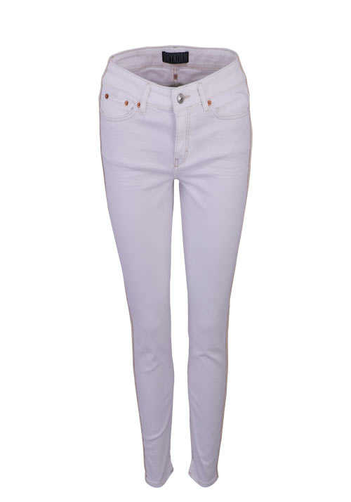 DRYKORN Skinny Fit Jeans NEED Mid Rise Cropped ecru