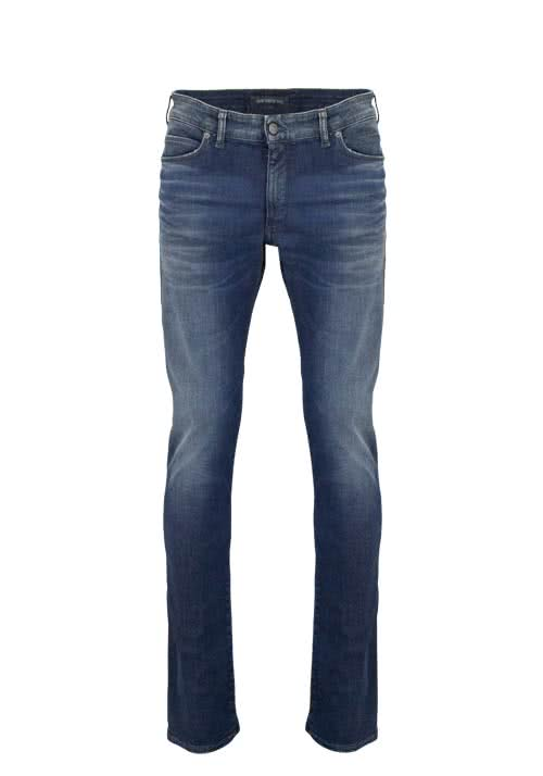 DRYKORN Slim Fit Jeans JAW Used rauchblau