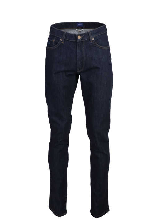 GANT Slim Fit Jeans 5 Pocket Used navy