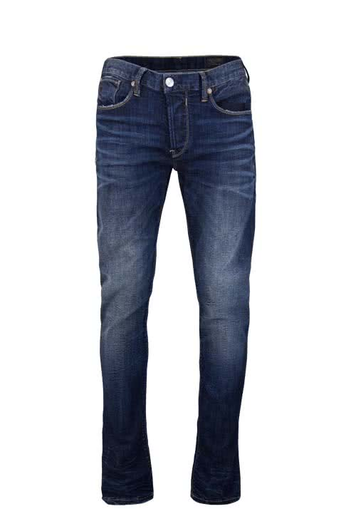 HERRLICHER Jeans HERO Comfort Fit Stretch used dunkelblau