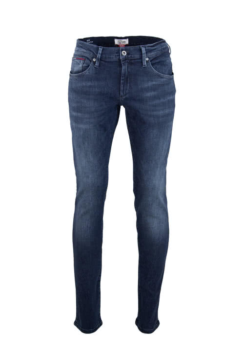 HILFIGER DENIM Slim Fit Jeans SCANTON Used nachtblau