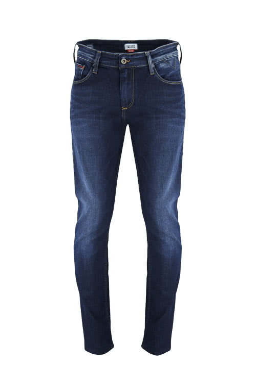 HILFIGER DENIM Straight Jeans RYAN dunkelblau