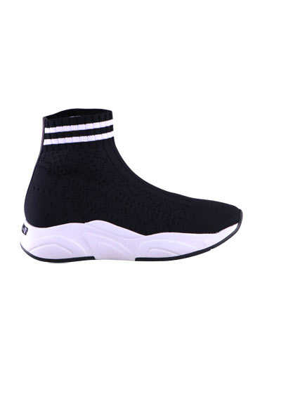 KENNEL&SCHMENGER Sneaker ULTRA Strick Stretch Sock Struktur schwarz
