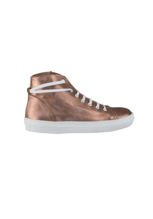 MARC AUREL Sneaker Lackleder bronze
