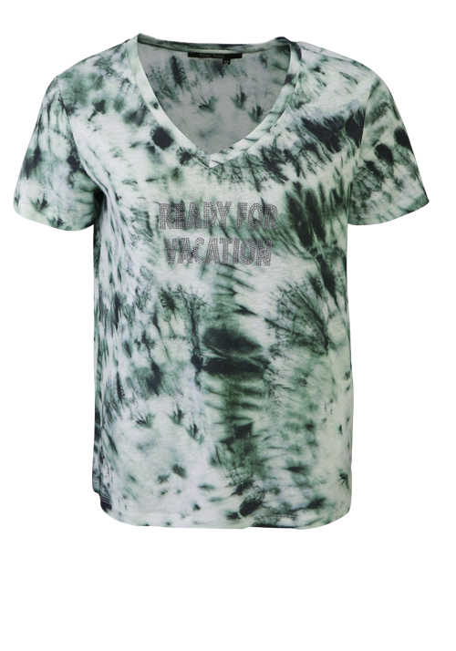 MARC AUREL T-Shirt VA-72/79-1/2Arm-Batik-Strass 7129/7000/73302/33001