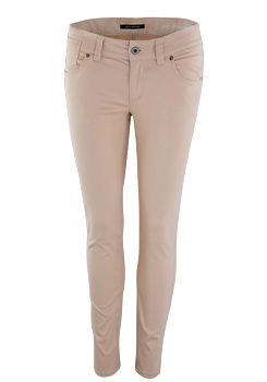 MARC O´POLO Hose Slim Stretch 5 Pocket Style hellrosa
