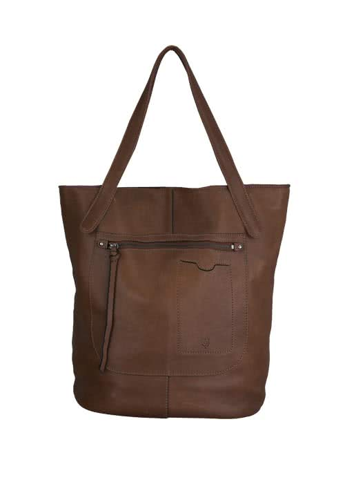 MARC O´POLO Shopper mittelbraun