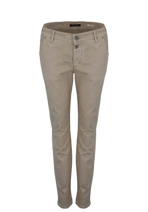 MARC O´POLO Straight Hose Stretch hellbraun