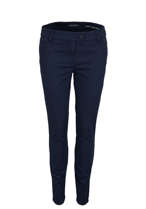 MARC O´POLO Straight Hose Stretch nachtblau