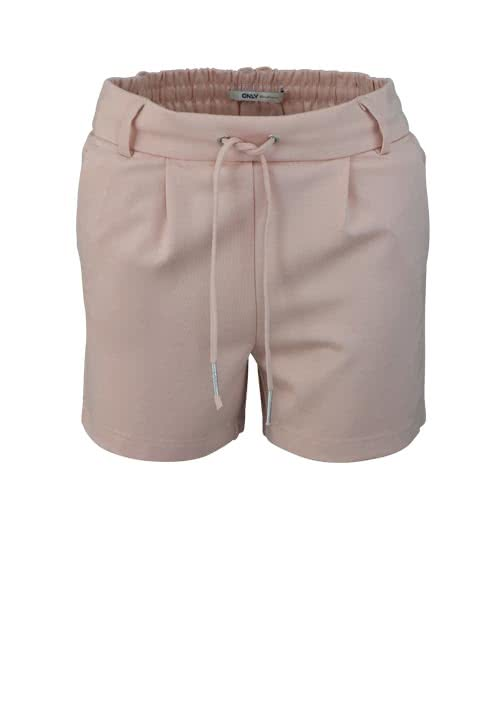 ONLY Short Gummibund Tunnelzug Bundfalte rosa
