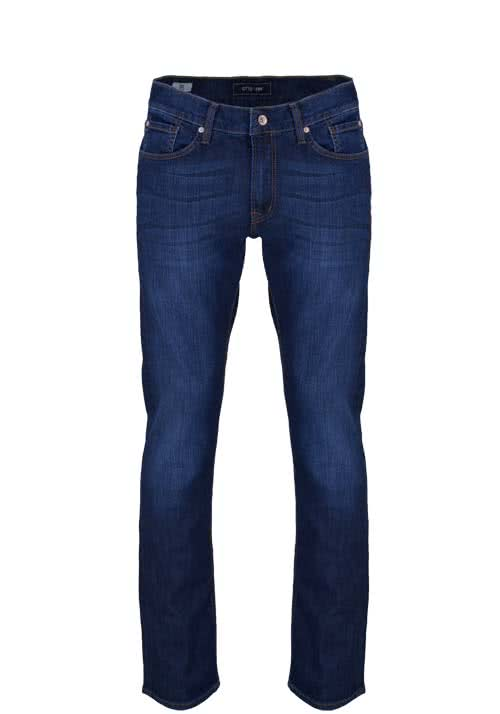 OTTO KERN Regular Fit Jeans RAY Dynamic Pure Stretch dunkelblau