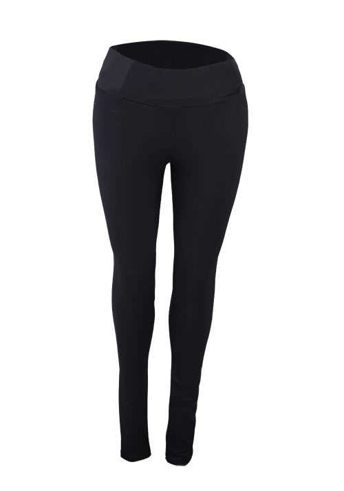 PIECES Skinny Leggings Stretch schwarz